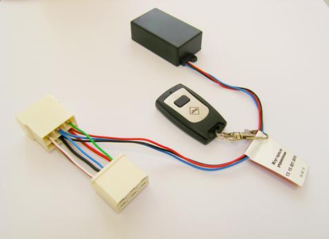 Электронный блок и однокнопочный пульт